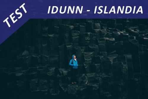 Test – kurtka Idunn na Islandii