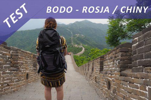 Test – plecak Bodo w Rosji i Chinach