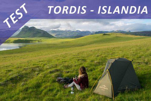 Test – namiot Tordis I na Islandii