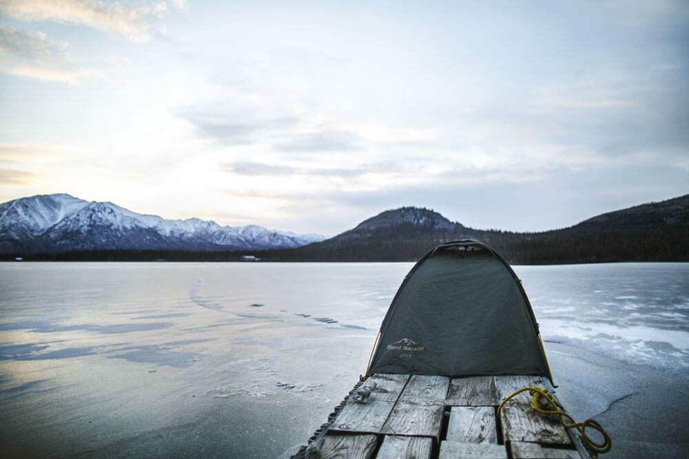 Test – namiot Veig II na Alasce
