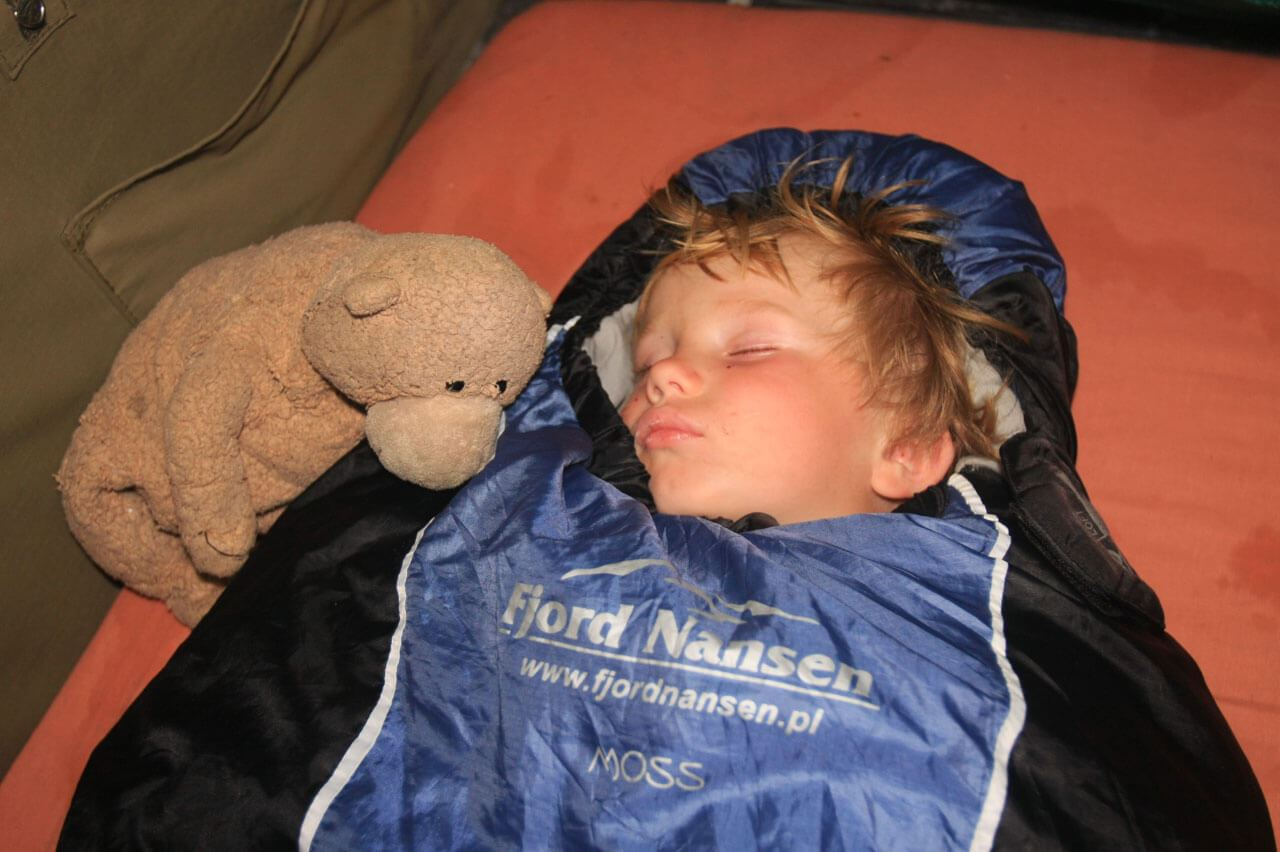 Po 10 latach znów w Namibii – śpiwór MOSS