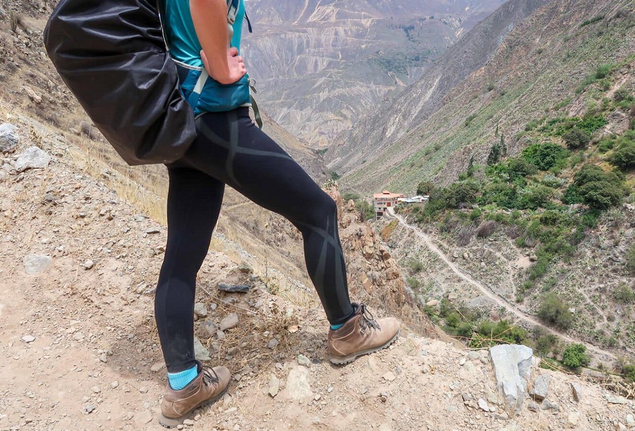 Test – legginsy Akka w Boliwii
